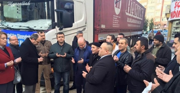 AK Parti Tekirdağ'dan Güneydoğu Anadolu'ya Kardeş Eli