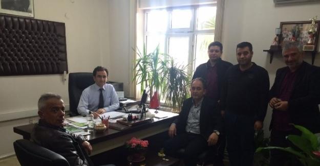 AK Parti'den Yeni Müdüre Ziyaret