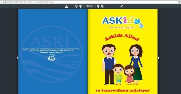 ASKİ'den Çocuklar İçin İnternet Sitesi