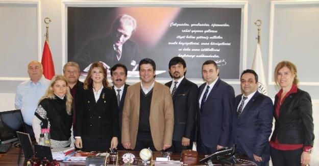 Mmo Başkanı Hamamcıoğlu'ndan Başkan Genç'e Ziyaret