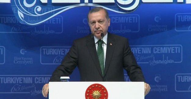Erdoğan: 'Bu millet kendi göbeğini kendisi kesecektir'
