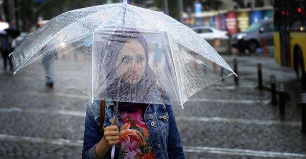 5 il için dolu ve sağanak yağış uyarısı