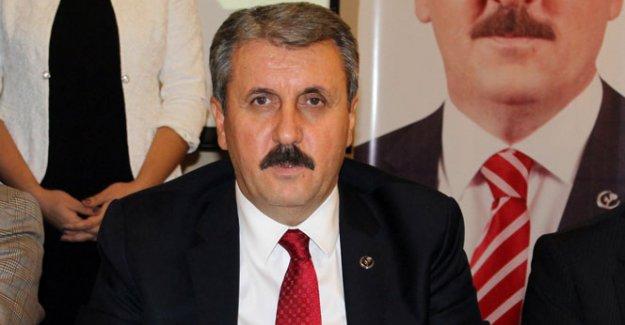 BBP Genel Başkanı Mustafa Destici gözaltına alındı