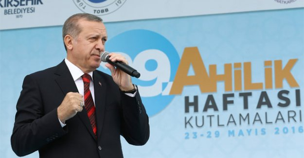 Cumhurbaşkanı Erdoğan: 'FETÖ'yü terör örgütü olarak tescilini gerçekleştireceğiz'