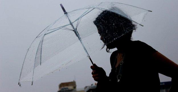 Dikkat! Meteoroloji'den Yağış Uyarısı!