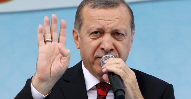 Erdoğan: 'ABD'nin PYD, YPG'ye verdiği desteği...
