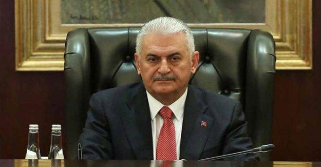 Başbakan Yıldırım, Halid Meşal'i kabul etti
