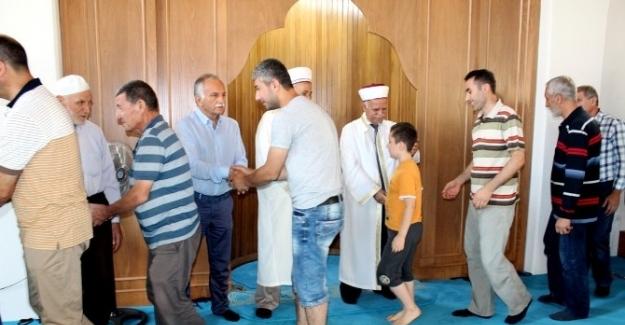 Başkan Karabağ bayram geleneğini sürdürdü
