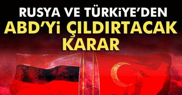 Rusya ve Türkiye'den ABD'yi Çıldırtacak Karar