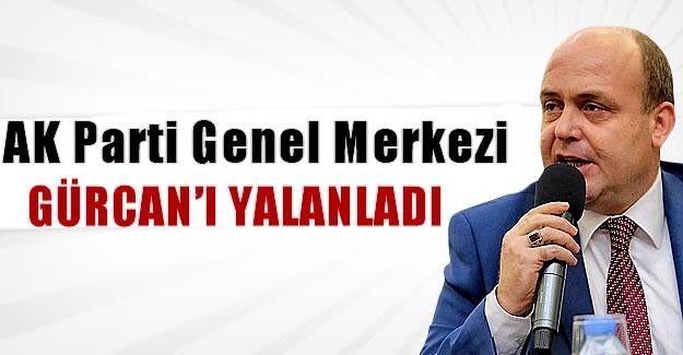 AK Parti Genel Merkezi'nden il başkanına yalanlama!