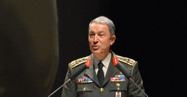 Akar, NATO Genelkurmay Başkanları Toplantısı'na katıldı