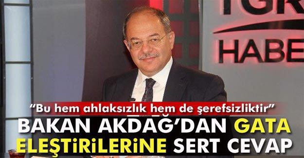 Bakan Akdağ'dan GATA eleştirilerine cevap