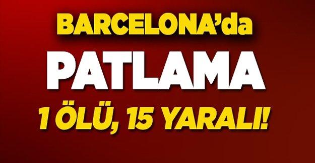 Barcelona'da patlama: Ölü ve yaralılar var