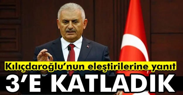 Başbakan'dan Kılıçdaroğlu'nun Eleştirilerine Yanıt