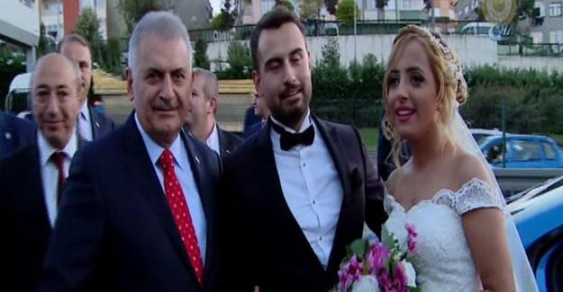 Başbakan Yıldırım'dan düğün konvoyu sürprizi