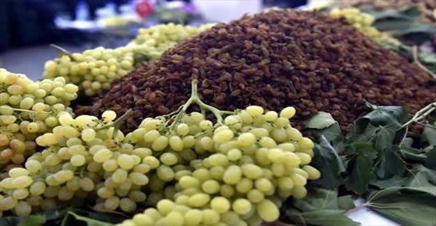 Çekirdeksiz kuru üzüm ihracatı 200 bin tonu aştı