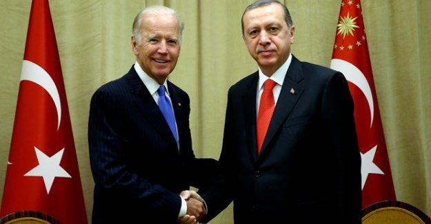 Cumhurbaşkanı Erdoğan, ABD Başkan Yardımcısı Joe Biden ile görüştü