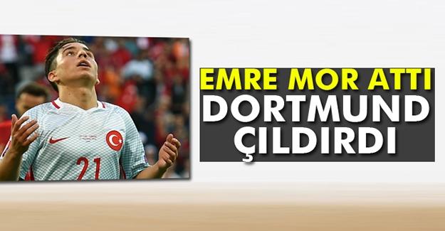 Emre Mor attı Dortmund çıldırdı