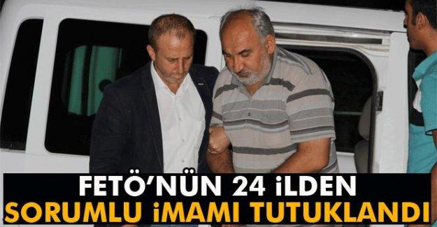FETÖ'nün 24 ilden sorumlu imamı tutuklandı