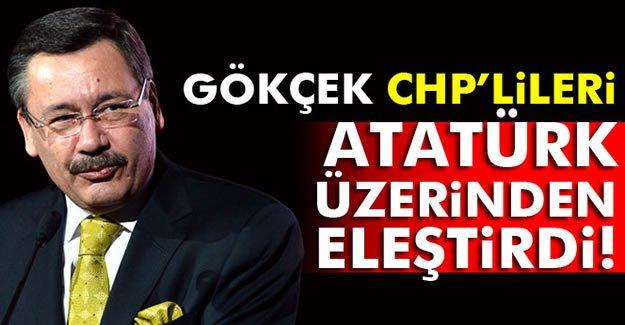 Gökçek, CHP'lileri Atatürk üzerinden eleştirdi