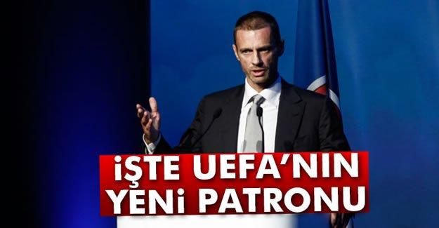 İşte UEFA'nın Yeni Patronu!