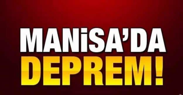 Manisa'da Korkutan Deprem!