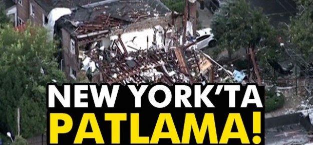 New York'ta patlama: Yaralılar var