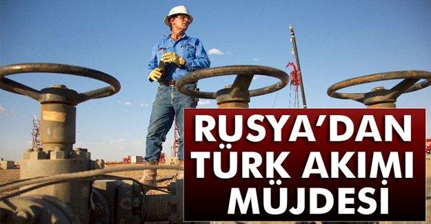 Rusya'dan Türk Akımı Müjdesi