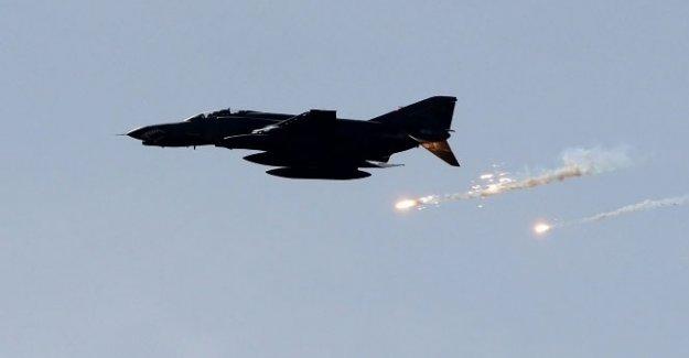Savaş uçakları DEAŞ hedeflerini vurdu