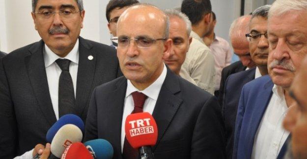 Şimşek: IŞİD ile PKK terör belalarından kurtulursak...