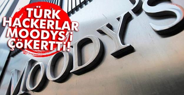 Türk hackerler Moody's'i hedef aldı
