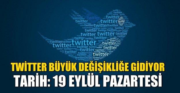 Twitter için büyük gün: 19 Eylül Pazartesi