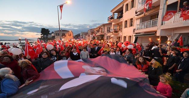 29 Ekim Cumhuriyet Bayramı Coşkusu Yürekleri Isıttı