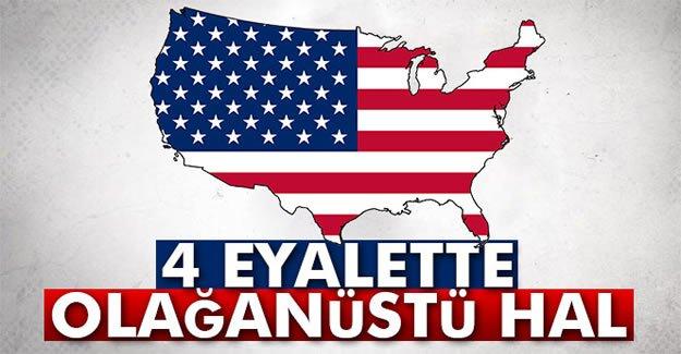 4 Eyalette Olağanüstü Hal