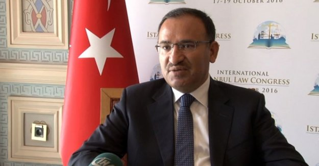 Adalet Bakanı Bozdağ'dan CHP'ye çağrı