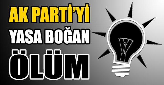 AK Partili başkan yardımcısı hayatını kaybetti