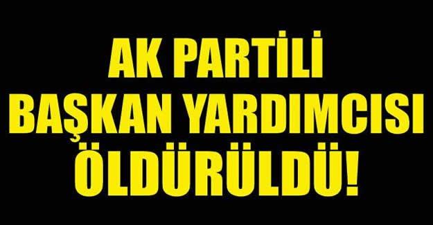 AK Partili Başkana Hain Saldırı!