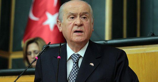 Bahçeli'den 'başkanlık sistemi' açıklaması