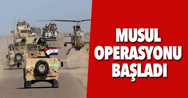 Beklenen Musul Operasyonu Başladı