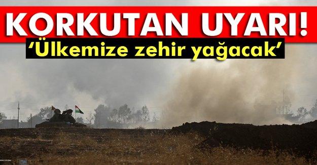 Çok kritik uyarı: 'Musul'daki Kükürt fabrikası...