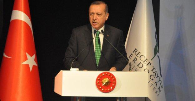 Erdoğan: '2016 yılında 1923'ün psikolojisi ile hareket edemeyiz'