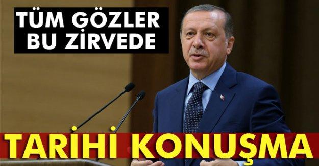 Erdoğan'dan tarihi konuşma