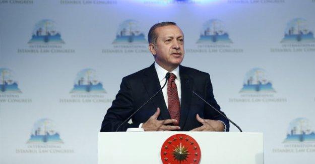 Erdoğan'dan Başkanlıkla ilgili açıklama