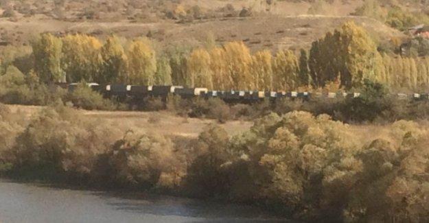 Erzincan'da yük trenine bombalı saldırı!