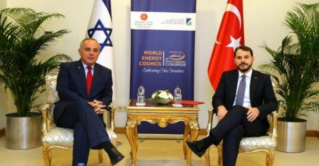 İsrail Enerji Bakanı Steinitz Türkiye'de...