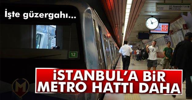 İstanbul'a Bir Metro hattı Daha