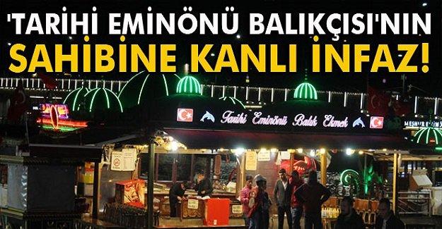 İstanbul'da Kanlı İnfaz!