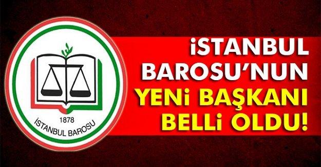 İşte İstanbul'un Yeni Baro başkanı