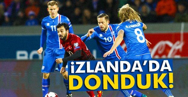 İzlanda'da Donduk!