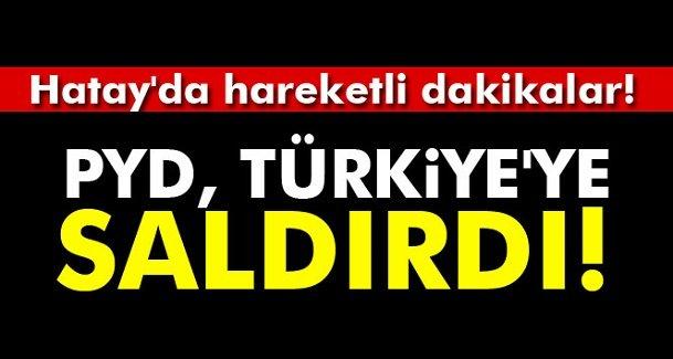PYD, Afrin'den Türkiye tarafına havanla saldırdı